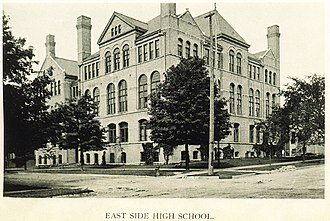 Riverside University High School - The former East Side High School