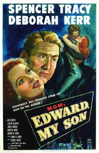 Edward, My Son - Original poster