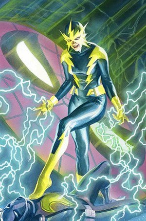Electro (Marvel Comics) - The second Electro, Francine Frye, in the cover of The Amazing Spider-Man vol. 4, 17.