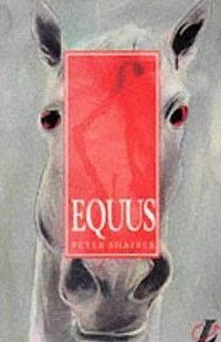 Cover of 1993 Longman edition of Equus.
