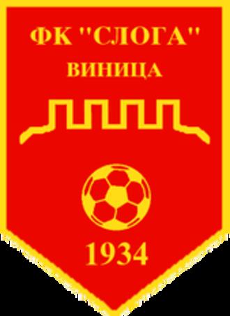 FK Sloga 1934 Vinica - Sloga Vinica Logo