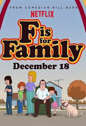 F Is for Family - F Is for Family promotional poster