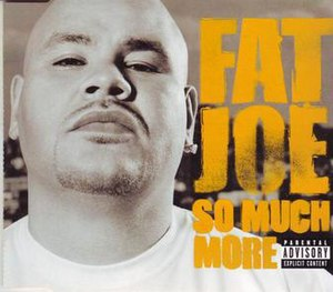 So Much More (song) - Image: Fat Joe So Much More single cover