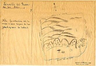 Rancho Los Feliz - Hand-drawn diseño for the Rancho Los Feliz