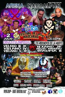 Festival de las Máscaras (2017) 2017 International Wrestling Revolution Group event