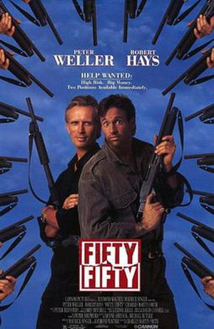 Fifty/Fifty (1992 film) - Image: Fifty Fifty (1992)