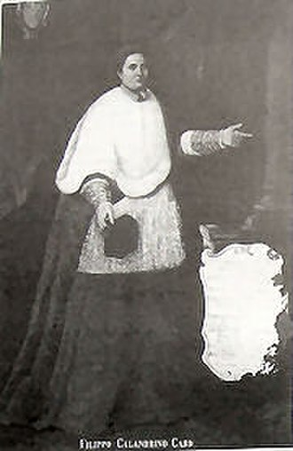 Pope Nicholas V - Much later portrait of Filippo Calandrini, the half-brother of Nicholas V, and his cardinal-nephew