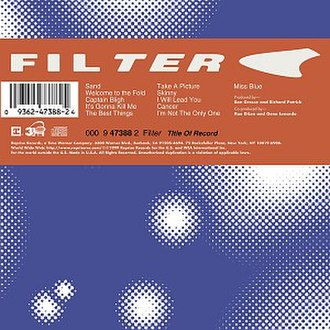Title of Record - Image: Filter Title of Record