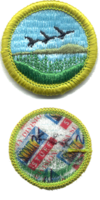 Fish and Wildlife Management merit badge, type J.png
