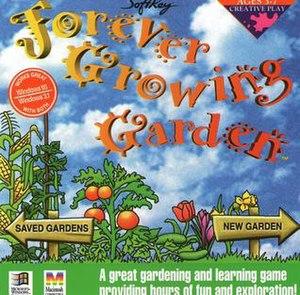 Forever Growing Garden - CD Cover art