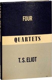 <i>Four Quartets</i> poems by T.S. Eliot