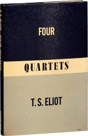 Four Quartets - First US edition published by Harcourt