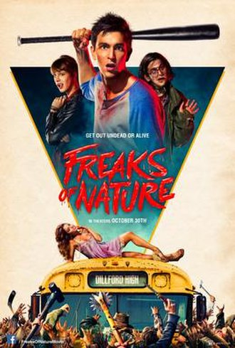 Freaks of Nature (film) - Theatrical release poster