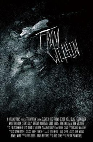 From Within (film) - Teaser poster