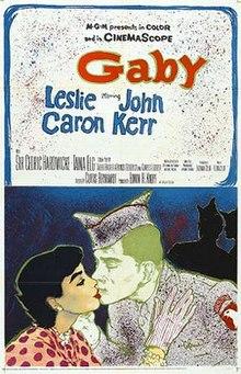Gaby 1956 filmposter.jpg