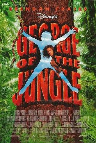 George of the Jungle (film) - Theatrical release poster