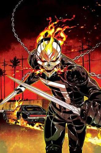 Ghost Rider (Robbie Reyes) - Image: Ghost Rider (Robbie Reyes)