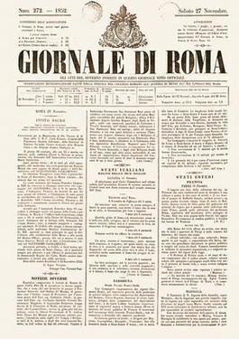 Giornale-di-Roma-27-November-1852