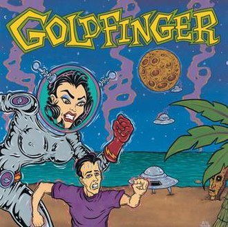Goldfinger (album) - Image: Goldfinger (Goldfinger album cover art)