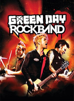 Green Day: Rock Band - The official box cover art of Green Day: Rock Band