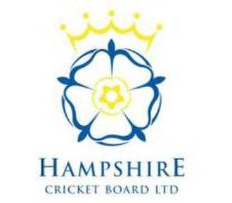Hampshire Cricket Board - Image: Hampshire Cricket Board (logo)