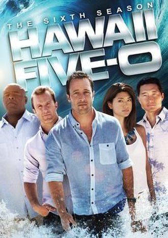 Hawaii Five-0 (2010 TV series, season 6) - Season 6 U.S. DVD cover