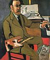 Henri Matisse, 1918, Portrait du peintre (Autoportrait, Self-portrait), oil on canvas, 65 x 54 cm, Matisse Museum (Le Cateau).jpg