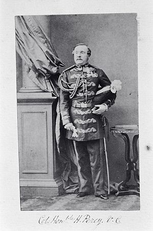 Lord Henry Percy - Colonel the Hon. Henry Percy VC, c.1862