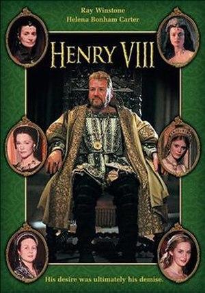 Henry VIII (TV serial) - DVD cover art