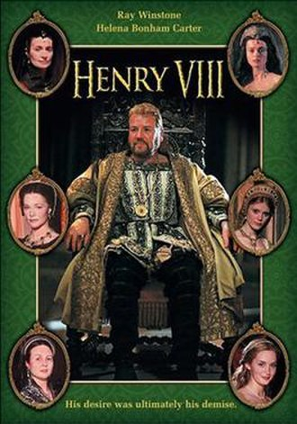 Henry VIII (TV serial) - DVD cover art
