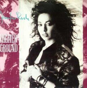 Higher Ground (Jennifer Rush song) - Image: Higher Ground Jennifer Rush single