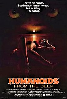 <i>Humanoids from the Deep</i> 1980 film by Barbara Peeters