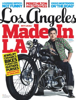 Los Angeles (magazine) - December 2009 cover