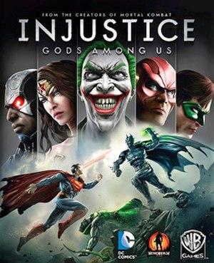 Injustice: Gods Among Us - Image: Injustice Gods Among Us Cover Art