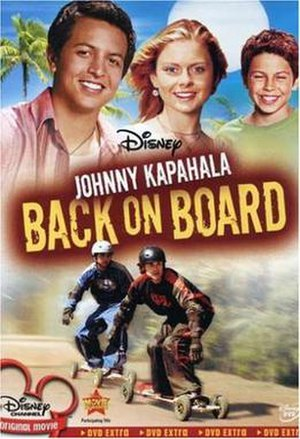 Johnny Kapahala: Back on Board - DVD cover