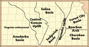Geology of Kansas - Subsurface structures of Kansas