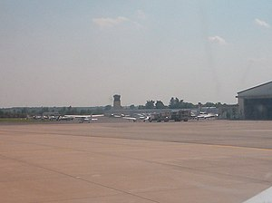 Olathe, Kansas - Johnson County Executive Airport (KOJC) Tower (2004)