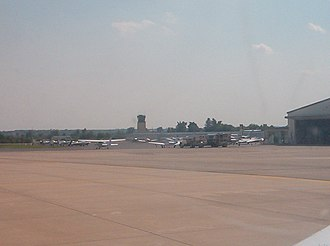 Olathe, Kansas - Johnson County Executive Airport in Olathe