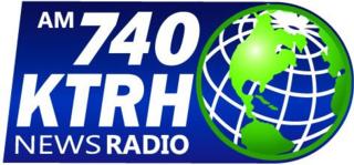 KTRH news/talk radio station in Houston