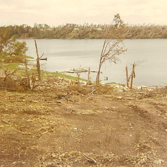 1969 Minnesota tornado outbreak - An F4 tornado caused major damage to many cabins and wide swaths of forest on both sides of Lake Roosevelt in the Outing, Minnesota, area.