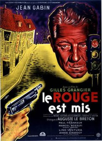 Speaking of Murder - French theatrical release poster