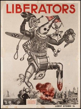 Liberators-Kultur-Terror-Anti-Americanism-1944-Nazi-Propaganda-Poster