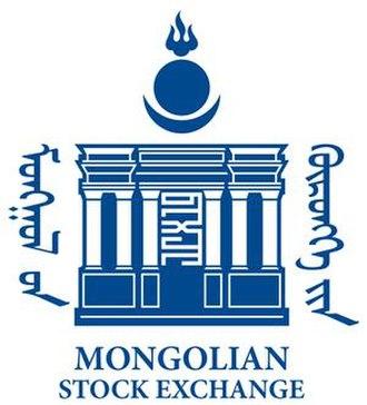 Mongolian Stock Exchange - Image: Logo of Mongolian Stock Exchange