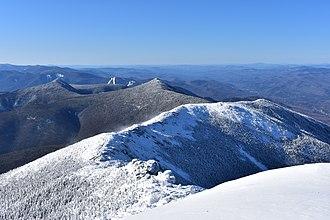 Franconia Range - Franconia Ridge in winter