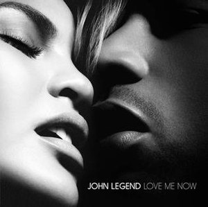 Love Me Now (John Legend song) - Image: Love Me Now (Official Single Cover)