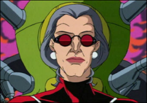 Madame Web - Animated Madame Web, as she appeared in the 1990s animated series.