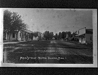 Dundee, Minnesota - Main Street, Dundee, Minnesota 1905