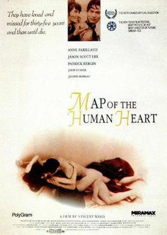Map of the Human Heart - Theatrical release poster