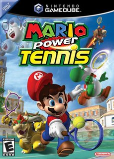 <i>Mario Power Tennis</i> 2004 sports game for the GameCube