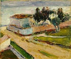 Le Mur Rose - Henri Matisse, Le Mur Rose, 1898